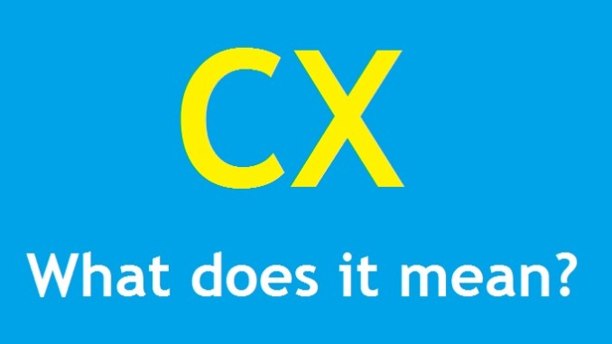 """cx"" means ""sincerely"""
