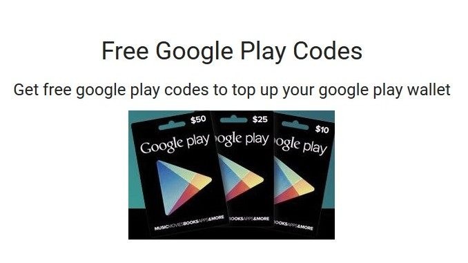 How to redeem google play Code?