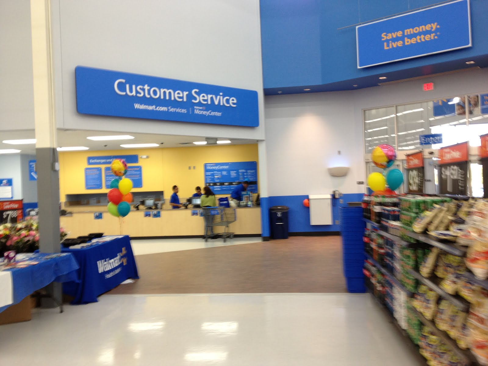 walmart customer service hours
